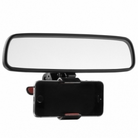 Soporte Retrovisor SmartPhone - iPhone, Android, GPS, Samsung, Apple